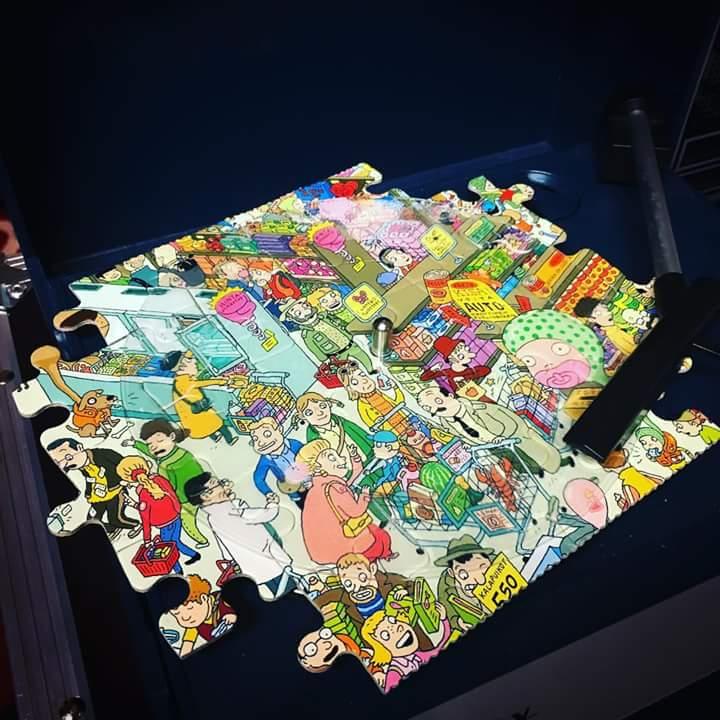 Sugar Coat выпустили первую в мире проигрываемую пластинку-пазл