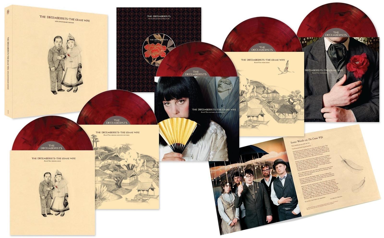 The Decemberists готовят переиздание альбома Crane Wife в виде пятидискового бокс-сета