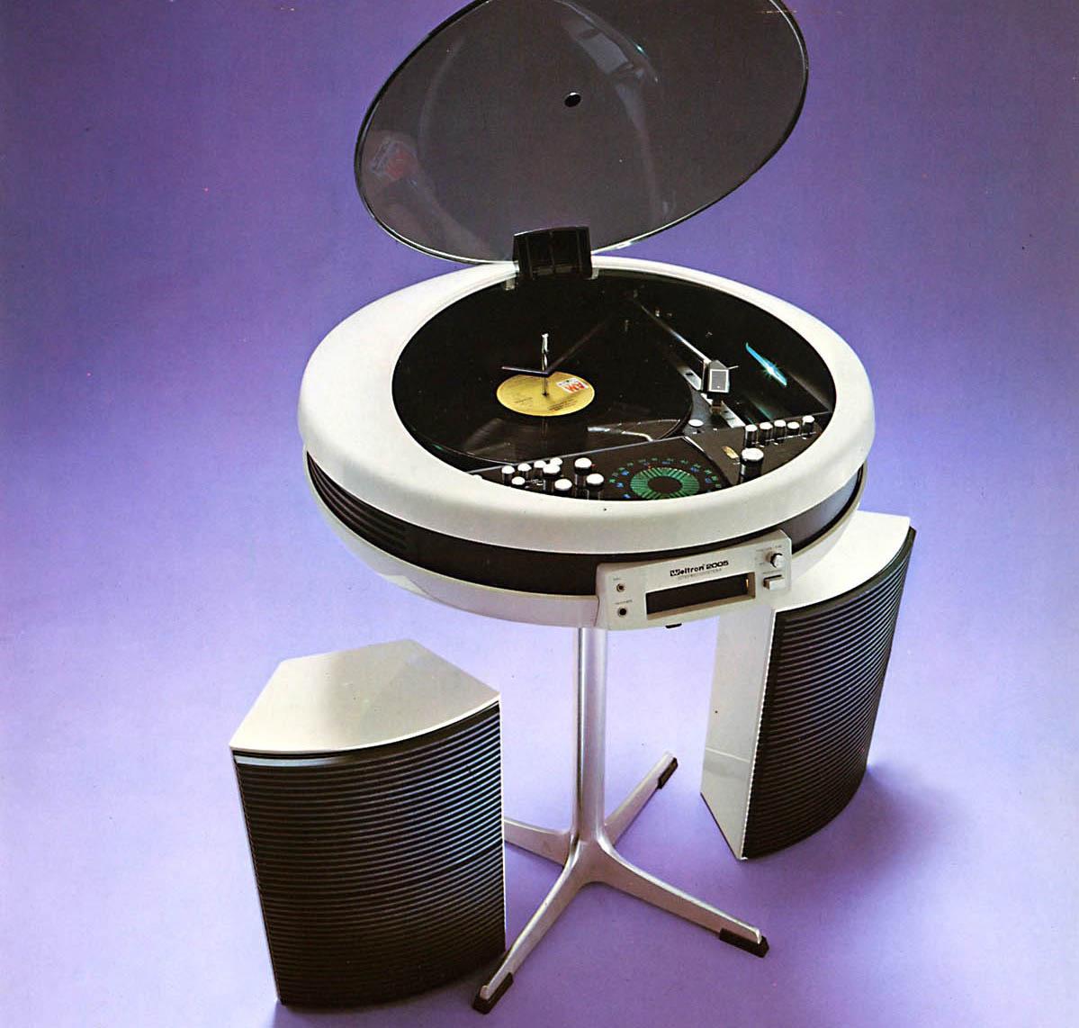 15 самых удивительных музыкальных проигрывателей времен космической эпохи