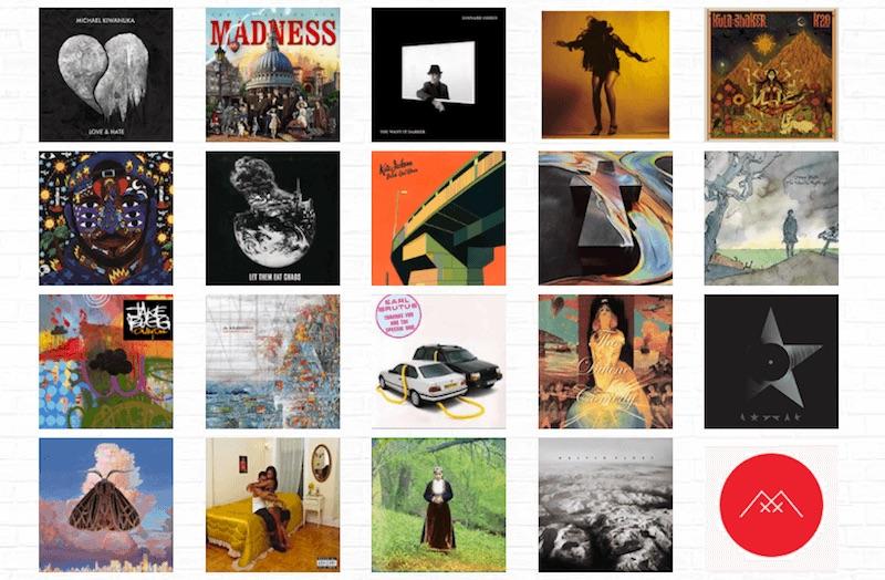Art Vinyl объявил о начале голосование за лучшую обложку альбома 2016 года