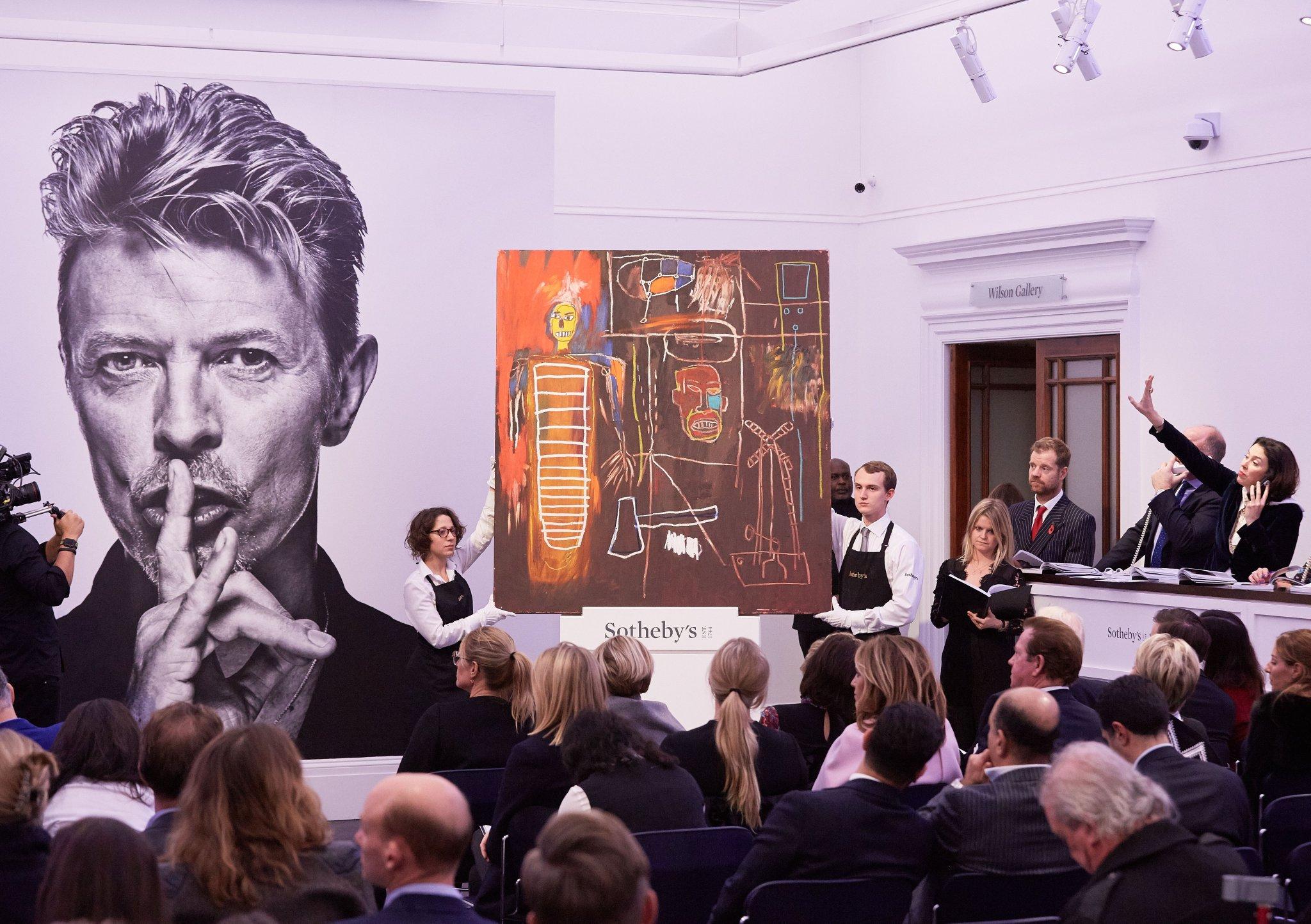 Частная коллекция произведений искусства Дэвида Боуи была распродана за более чем 40 миллионов долларов 6