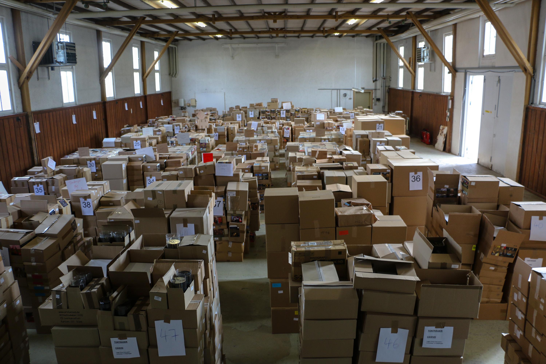 Немецкие власти конфисковали 2 миллиона пиратских пластинок и CD
