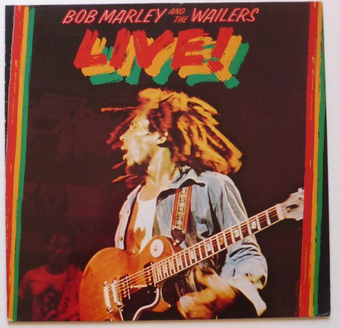 Легендарный концертный альбом Bob Marley & The Wailers «Live!» получит расширенное трехдисковое переиздание