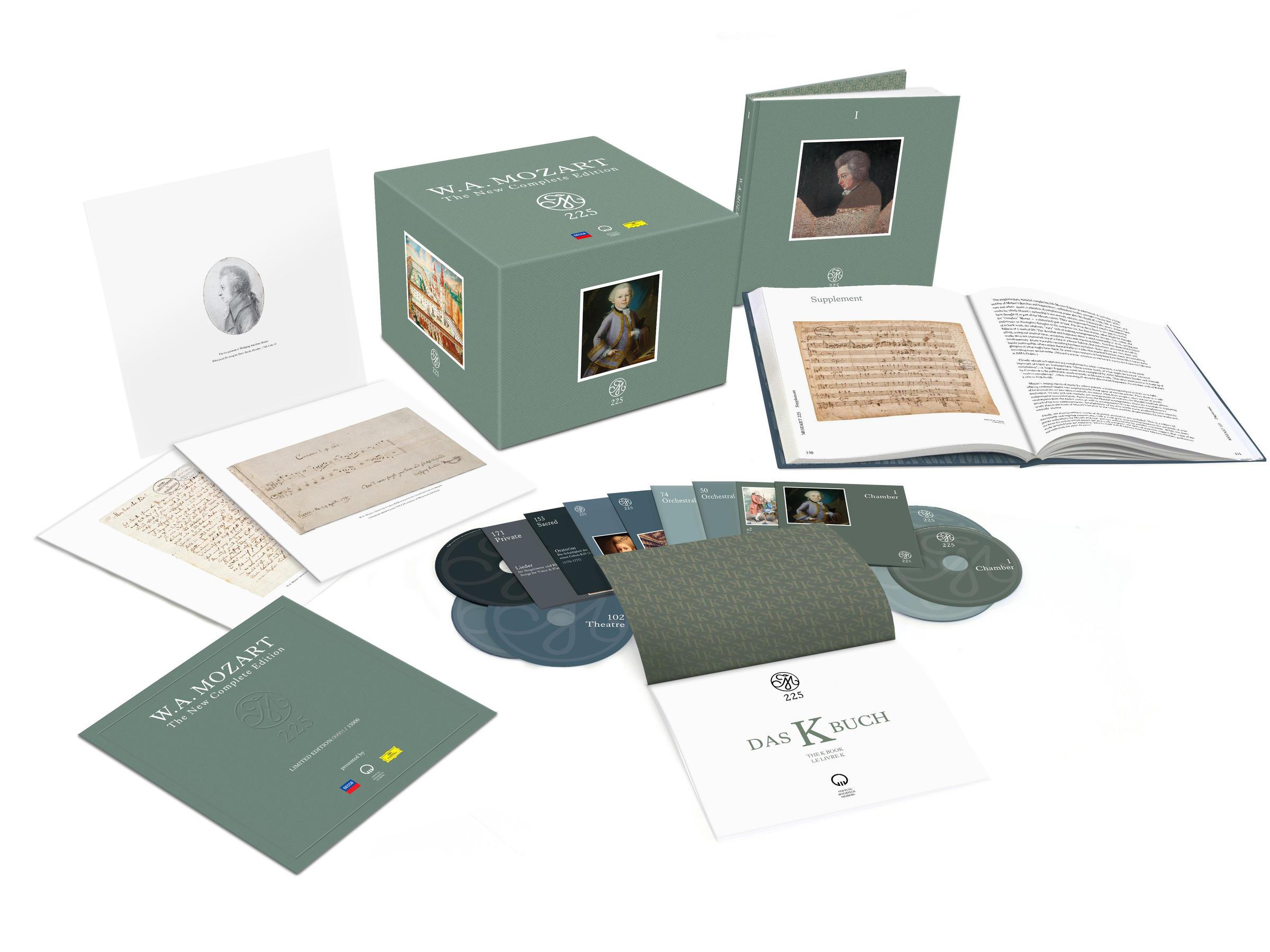 200-дисковый бокс-сет Моцарта стал самым продаваемым CD-релизом 2016 года