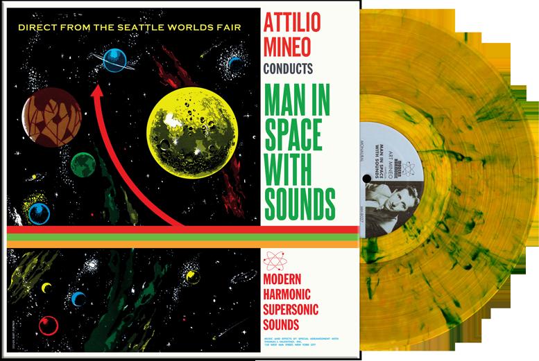 Культовый футуристический альбом Attilio Mineo «Man in Space with Sounds» получил виниловое переиздание
