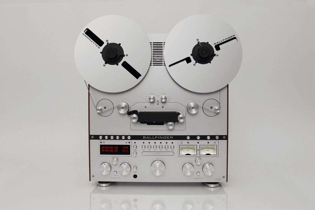 Ballfinger представили новый инновационный катушечный магнитофон и проигрыватель для пластинок