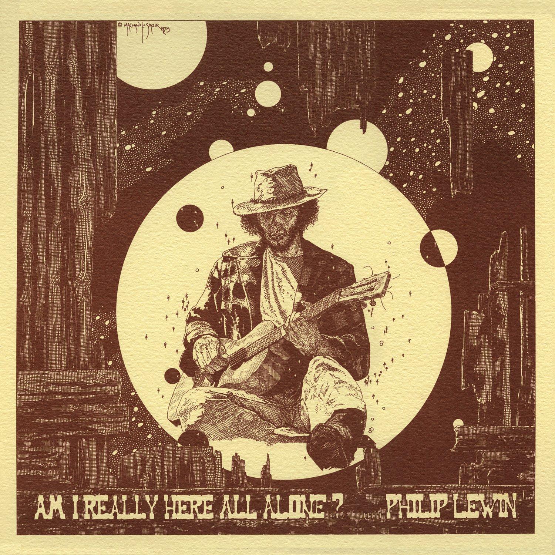 "Редкая пластинка канадского затворника психоделического фолка Филипа Левина ""Am I Really Here All Alone?"" получила переиздание"