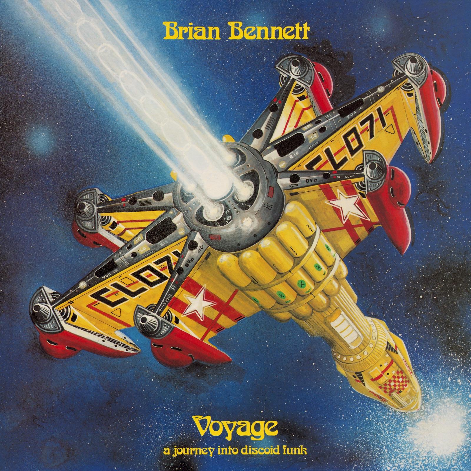 Космический диско артефакт Брайана Беннетта «Voyage (A Journey Into Discoid Funk)» получил официальное переиздание