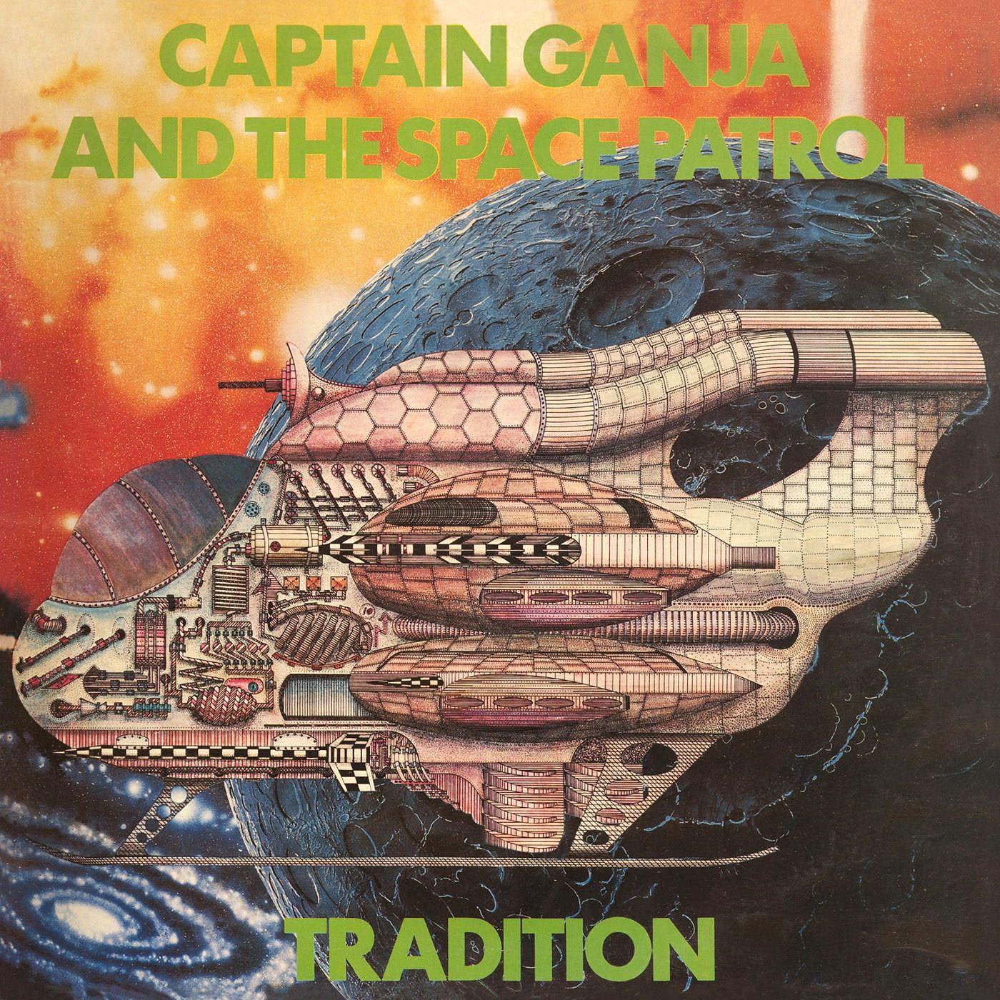 """Космическая аномалия регги-даба Tradition """"Captain Ganja And The Space Patrol"""" будет впервые переиздана"""