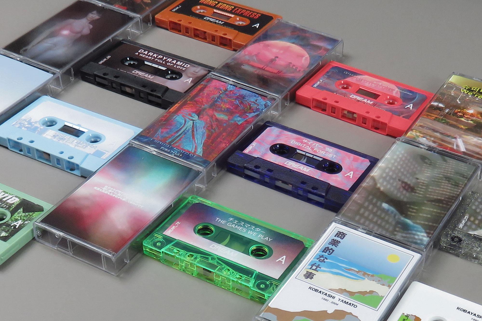 Dream Catalogue издаст 10 кассетных эксклюзивов в рамках единого бокс-сета