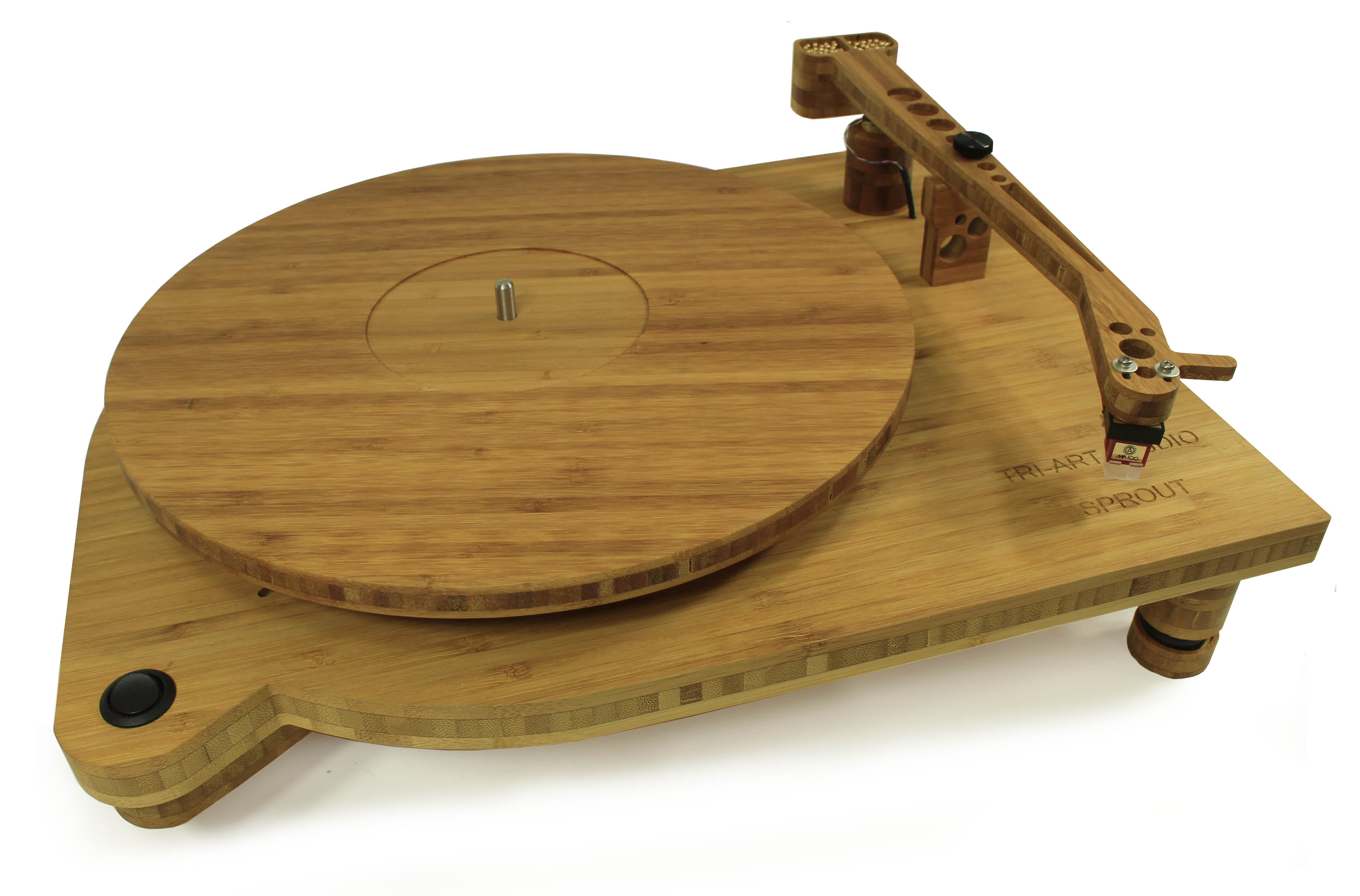Tri-Art представили виниловый проигрыватель, полностью сделанный из бамбука