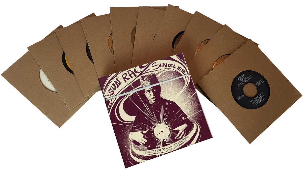 Второй сборник редких синглов Sun Ra выйдет в виде десятидискового бокс-сета