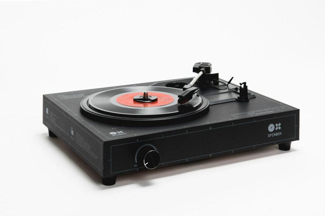 Spinbox позволит вам собрать свой собственный проигрыватель для пластинок за 18 минут