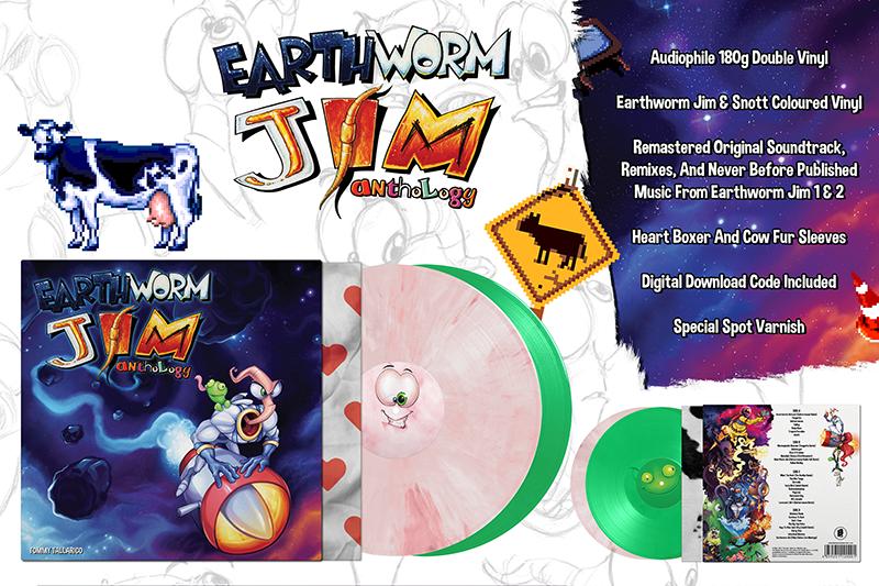 Музыка из earthworm jim впервые выйдет на виниле