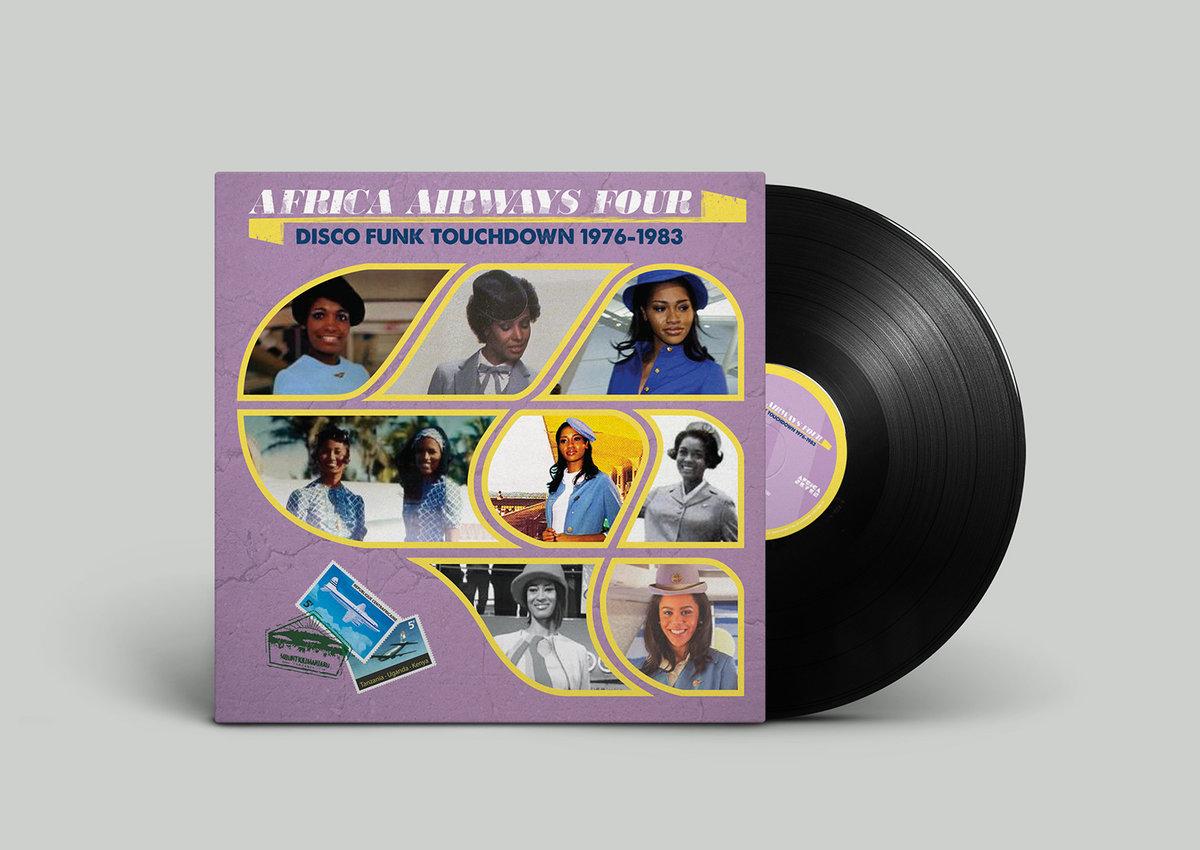 Africa Seven расширяет границы африканского диско-фанка в четвертой части серии компиляций Africa Airways