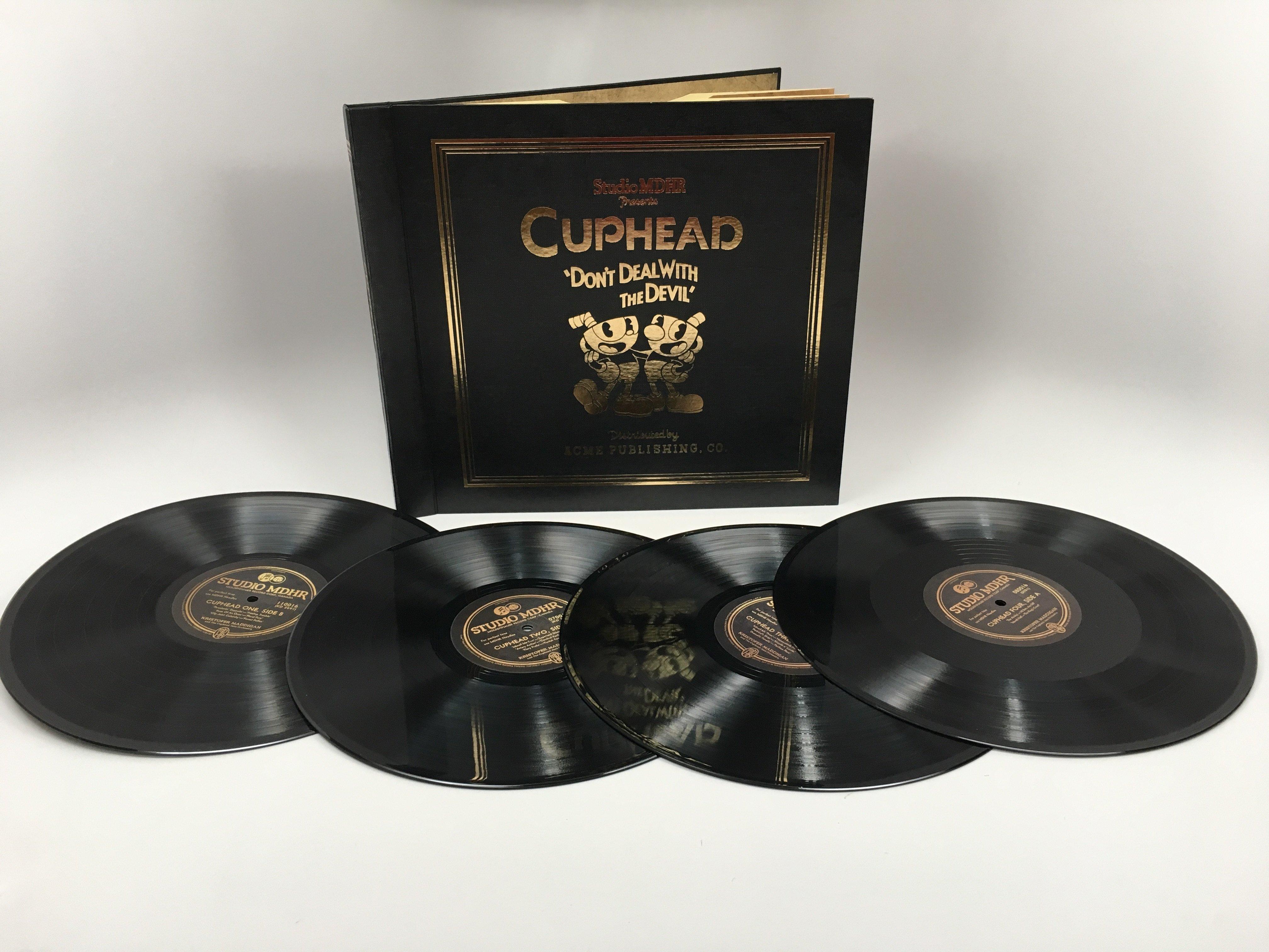 Музыка к стилизованной под мультфильмы 30-х аркаде Cuphead получит издание на четырех пластинках