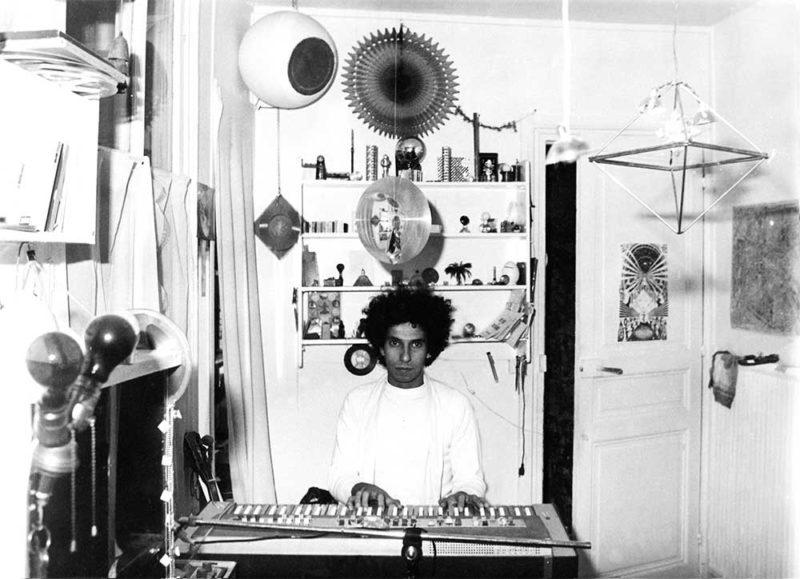 "Black Sweat Records представили сборник с архивных материалами французского композитора Ариэля Калма ""French Archives 1977-80"""