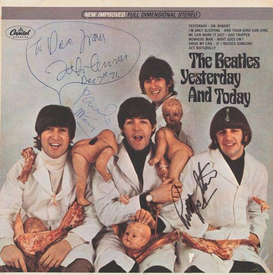 Одна из самых редких записей в мире уйдет с молотка на аукционе, посвященном Beatles