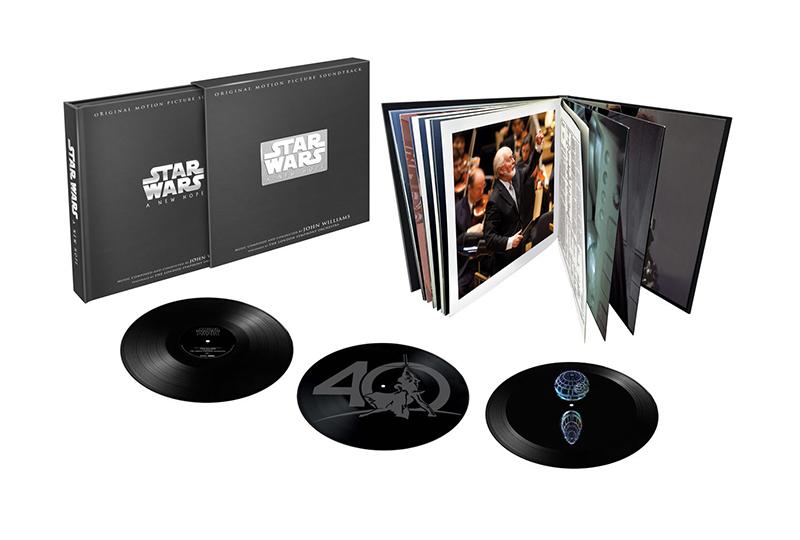 """Саундтрек к первому фильму саги """"Звездные войны"""" получит лимитированное юбилейное 3xLP переиздание"""