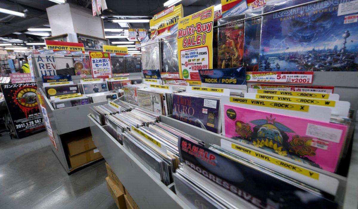 Токио возглавил список городов с самым большим количеством музыкальных магазинов, составленный Discogs и VinylHub