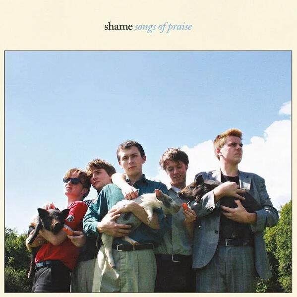 """Лондонская пост-панк группа Shame отправляется на ферму в новом видео """"One Rizla"""""""