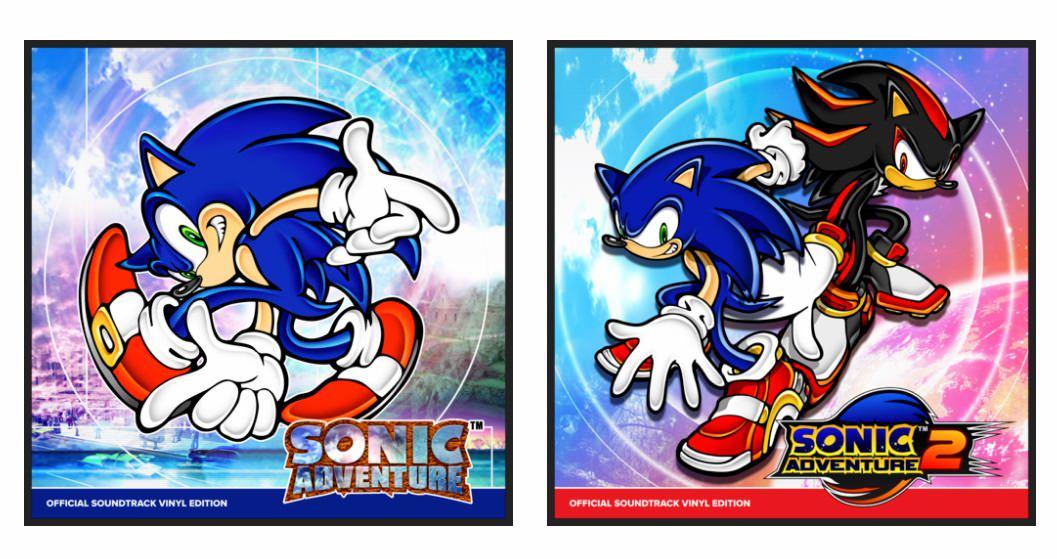 Саундтреки к двум первым играм серии Sonic Adventure будут впервые изданы на виниле