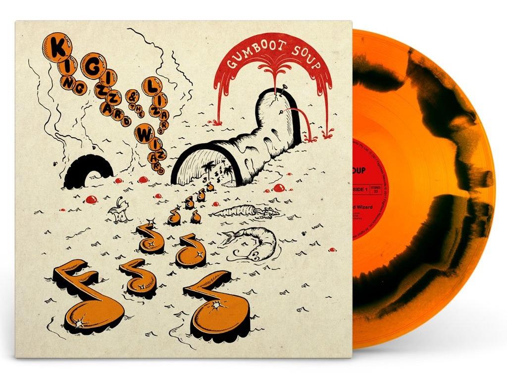 "King Gizzard & The Lizard Wizard закрывают 2017 год новым альбомом ""Gumboot Soup"" 1"