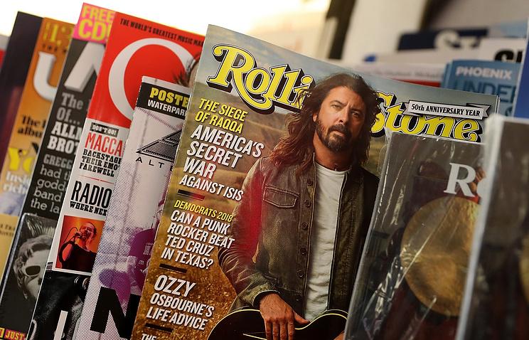"""Журнал """"Rolling Stone"""" продан Penske Media Corporation более чем за 100 миллионов долларов"""