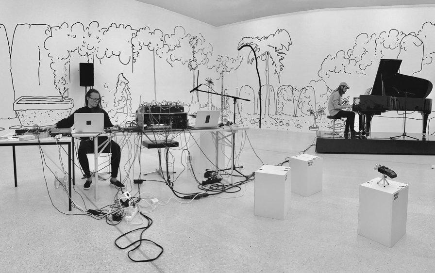 Shelter Press выпустит совместный LP Кристины Вантзу и Джона Олсо Беннета, вдохновленный настенной живописью Зина Тэйлора