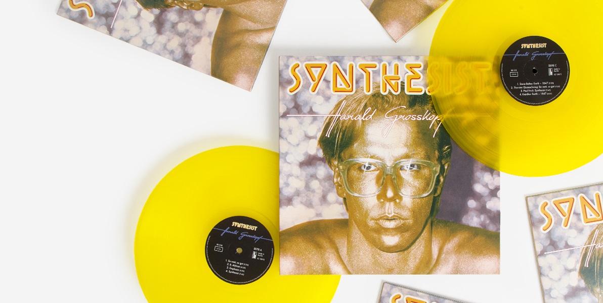Классический электронный альбом Харальда Гросскопфа «Synthesist» получил лимитированное издание к очередному юбилею 1
