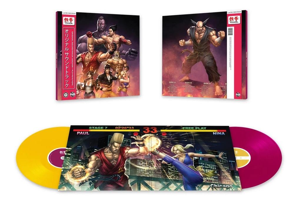 Laced Records выпустили на виниле саундтреки к первым частям культовой серии файтингов «Tekken» 1