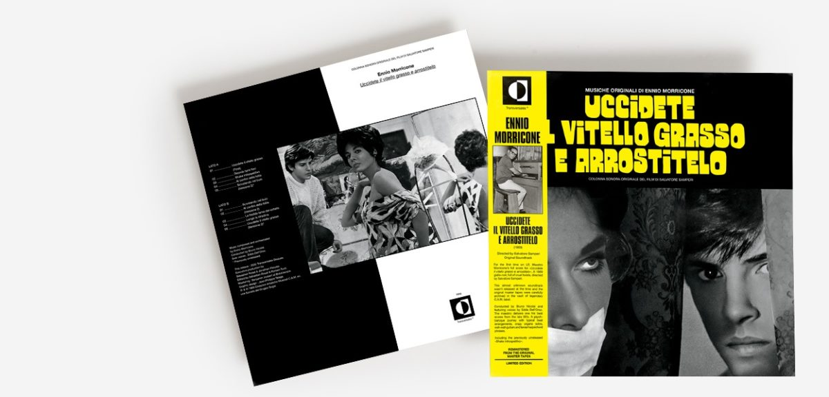Редкий саундтрек Эннио Морриконе к джалло-ленте «Uccidete il Vitello Grasso e Arrostitelo» впервые издали на виниле 1