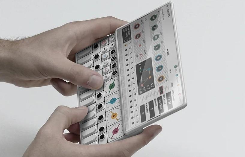 Gris Design представили концепт синтезатора будущего OP-S 1