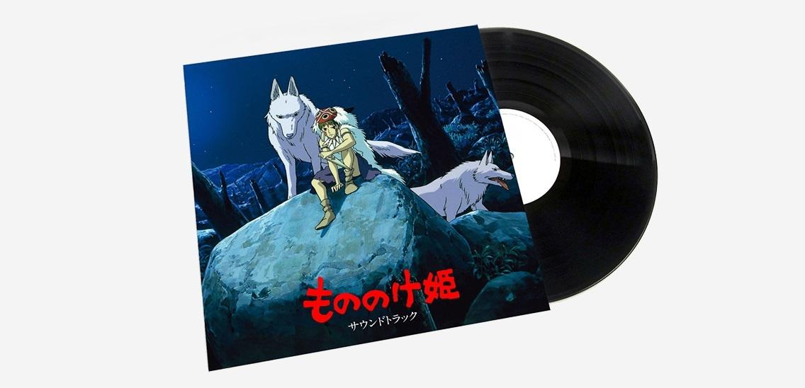 Саундтрек к анимационному фильму «Принцесса Мононоке» впервые издан на виниле 1