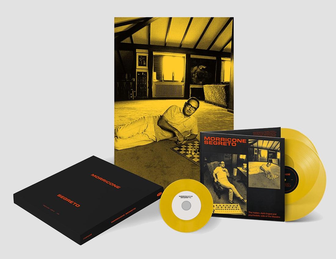 Объявлен первый посмертный альбом Эннио Морриконе «Morricone Segreto» 1