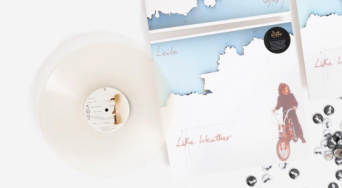 """Альбом Leila """"Like Weather"""" впервые перевыпущен на виниле 1"""