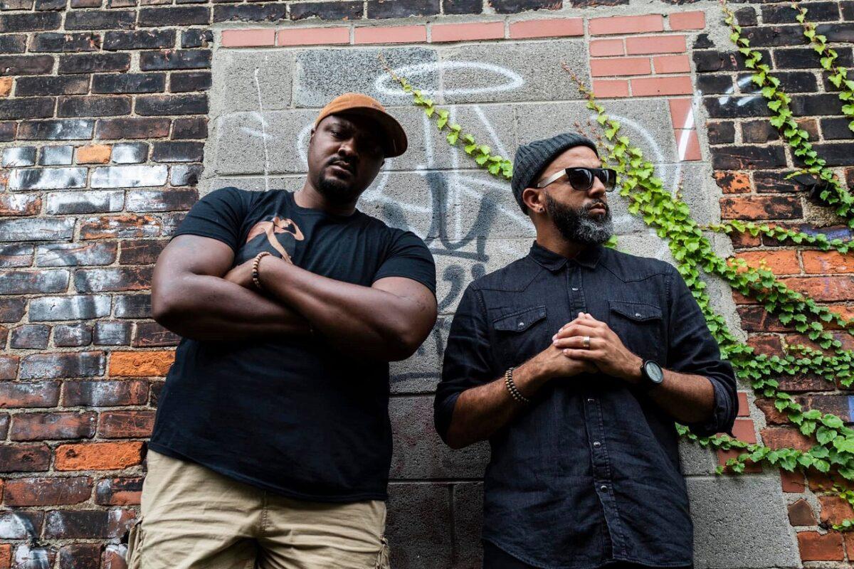 "Tall Black Guy и Ozay Moore отдают честь старой школе на новом сингле ""Har Hanz"" 1"