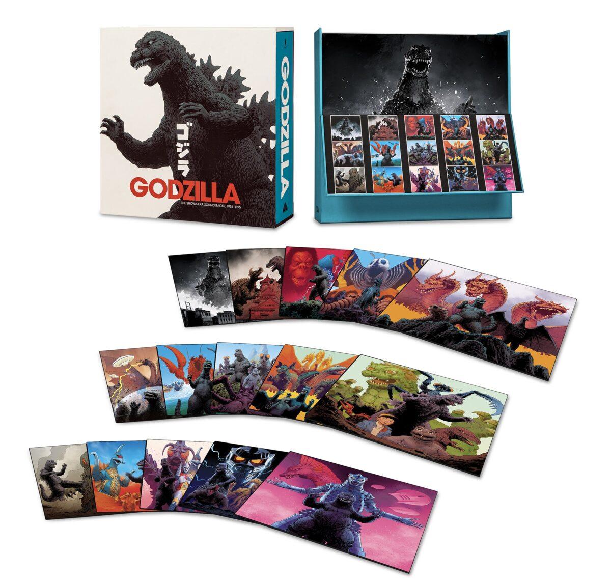 Саундтреки к классическим фильмам про Годзиллу выйдут в формате винил-бокса «Godzilla: The Showa Era Soundtracks» 1