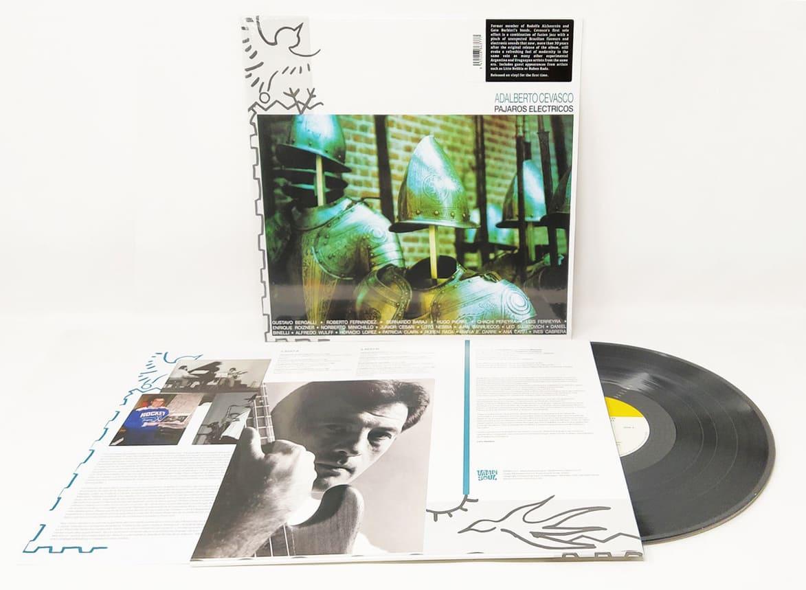 Vampisoul переиздали единственный сольный альбом Адальберто Севаско «Pájaros eléctricos» 1